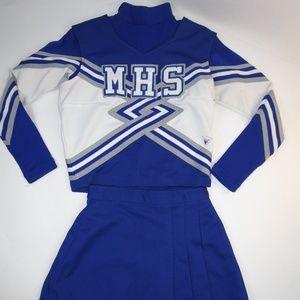 Real High School Cheerleader Uniform Outfit 36/24